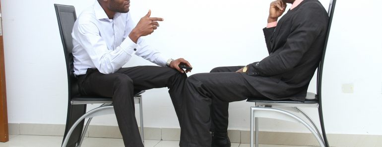 1-Langage non verbal pour entrevue